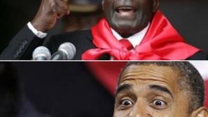 رئيس زمبابوي يطلب يد باراك أوباما بعد مباركته لـ