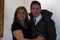 ميسي مع والدته