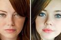 Emma Stone and her random look-alike