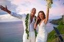 صور: بعد حب 12 عام زواج ذا روك بشكل مفاجئ.. فستان العروس غاية في الرقة