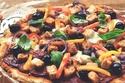 البيتزا بالخضراوات