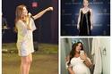 صور: في 2018 نجمات جميلات خلال الحمل.. إحداهن تعرضت للنقد بسبب ملابسها