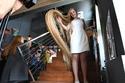 شاهد: الجميلة الأوكرانية عمرها 15 عاماً وتسجل رقم قياسي في طول الشعر