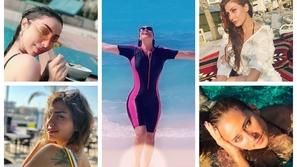 صور: جرأة النجمات العرب والظهور بالمايوه.. رقم 19 فتحت النار على نفسها