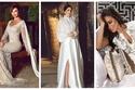 صور: أشبه بفساتين الزفاف.. نجمات تألقن باللون الأبيض خلال سهرات رمضان