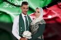 العروس تؤكد اعتزازها بان يوم زفافها يأتي بالتزامن مع اليوم الوطني