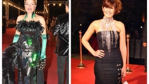 صور أبشع فساتين النجمات في تاريخ مهرجان القاهرة: فستان يسرا 2007 غريب!