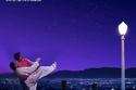 أحمد حلمي وميس انشراح على بوستر فيلم La La Land