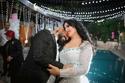 من حفل زفاف أحمد سعد وسمية الخشاب