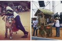 صور: مهرجان الحمير والبشر.. من يقلد صوت الحمار بشكل أفضل؟