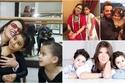 صور نجوم عرب رزقوا بأطفال بعد الـ40 الأخيرة أنجبت طفلها الأول في الـ48