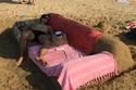 أريكة من الرمال