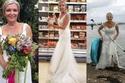 ترتدي فستان زفافها يومياً