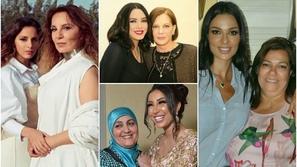 صور أبرز النجمات العرب مع أمهاتهن.. هذه النجمة والدتها أجمل منها بكثير