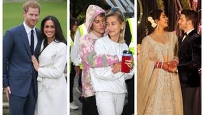 صور: الخطوبة والزواج في عام واحد مشاهير تزوجوا بسرعة أحدهم خلال 3 أيام