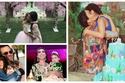 صور: حفلات خيالية.. نجوم عرب احتفلوا بأعياد ميلاد أبنائهم بطرق فخمة