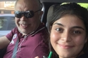 أشرف زكي مع ابنته