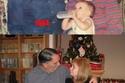 أب وأم وابنتهما