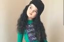 صور طفلة من أب ألباني وأم إيطالية أصبحت موديل بسبب جاذبيتها