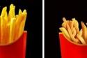 البطاطس المقلية في الإعلانات مقارنة بالواقع