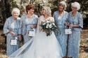 العروس مع وصيفاتها