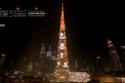 صور خريجي الجامعة الكندية في دبي على برج خليفة