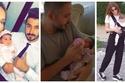 صور: نجوم عرب نشروا صور أطفالهم بعد الولادة دون خوف من الحسد