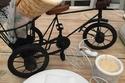 الشاورما على الدراجة الهوائية.