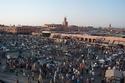 ساحة مسجد الفنا، مراكش ، المغرب