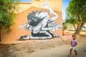 صور قرية تونسية قديمة تتحول إلى متحف مفتوح بواسطة 150 فناناً