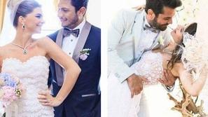 صور ساحرة مليئة بالحب لأجمل حفلات زفاف النجوم الأتراك الحقيقية!