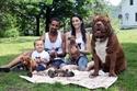 صور طريفة لمتعة تربية الكلاب.. شاهد أكبرهم حجماً