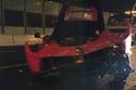 صور: مراهق صيني يدمر سيارة فيراري لافيراري بحادث عنيف