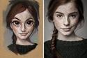 صور مدهشة فنان برازيلي يحول الصور الحقيقة إلى شخصيات كرتونية
