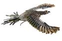 صور لفنان كولومبي يحول طلقات الرصاص إلى أعمال فنية مدهشة