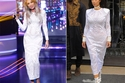 مايا دياب جعلت من كيم أضحوكة عندما ظهرتا بنفس الفستان من تصميم بالمان Resort 2015