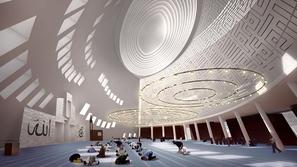 صور مدهشة لتصاميم مساجد بلمسات عصرية