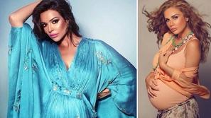 صور لنجمات عربيات فاجأن الجمهور بإطلالات مذهلة في فترة الحمل