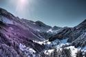 10 صور تعكس لك سحر جبال الألب في الشتاء.. لا تفوتوا مشاهدتها