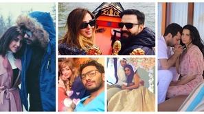 صور رومانسية: أين قضى المشاهير العرب شهر العسل.. هذا المكان كان الأبرز
