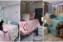 غرف نوم قبيحة حولها الطلاب إلى ديكورات رائعة