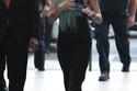 أماندا بينز وإطلالة صاخبة بلون شعر أزرق