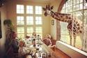 مطعم الزرافات