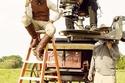 """ليوناردو دي كابريو أثناء تصوير فيلم """"Django Unchained"""""""