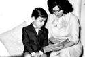 فيروز وابنها زياد رحباني