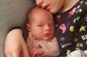 الطفلة روبين ولدت مبكراً عن موعدها الطبيعي