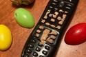 الشيكولاتة وريموت التلفاز