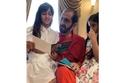 صورة تجمع محمد بن راشد مع أحفاده في العيد