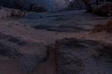 حركة المجرة فوق سماء جبل رال