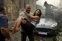 الصور الأكثر حزناً في حادث انفجار مرفأ بيروت: لقطات أحزنت القلوب